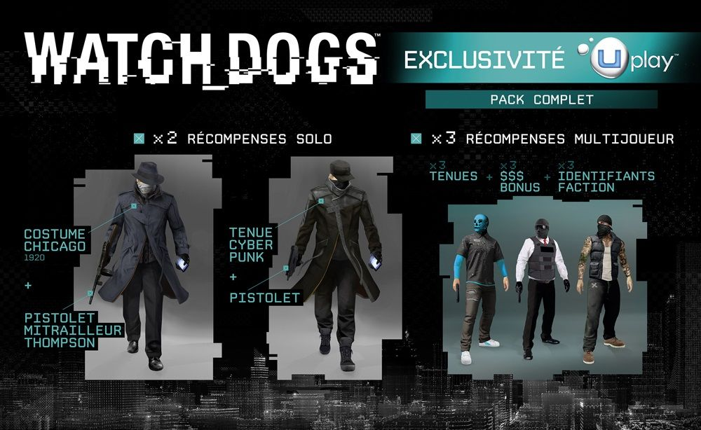 Watch Dogs : Uplay obligatoire sur PC