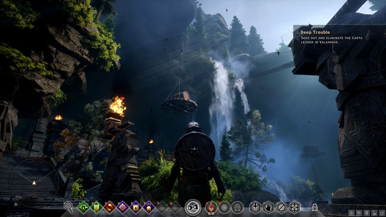 Dragon Age Inquisition : Une config et des images