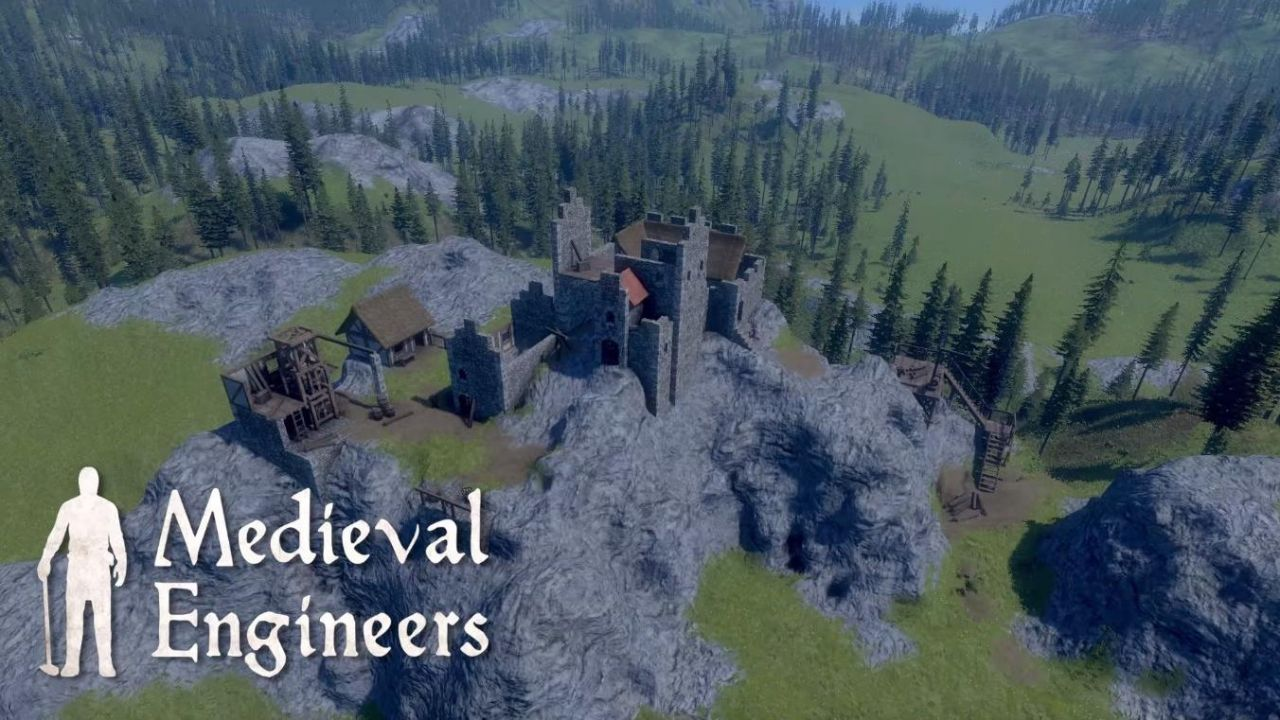 Medieval Engineers : A la découverte du petit frère de Space Engineers !