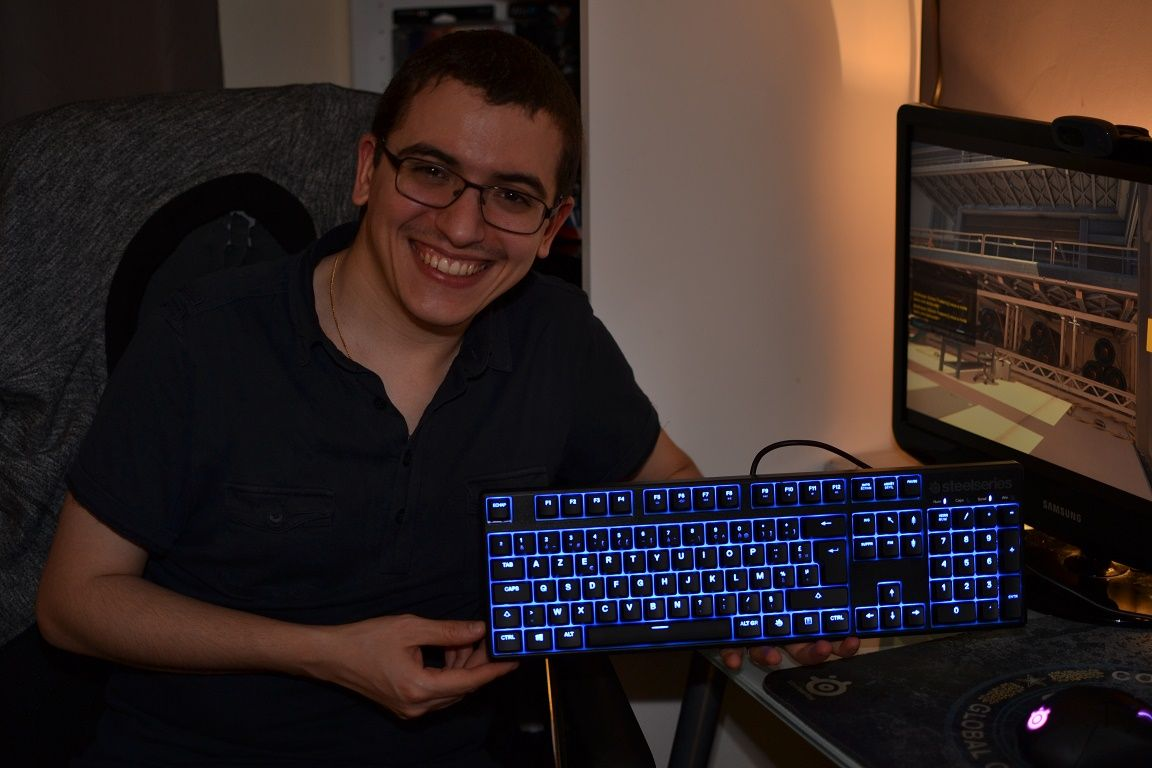 Clavier : Steelseries Apex M500