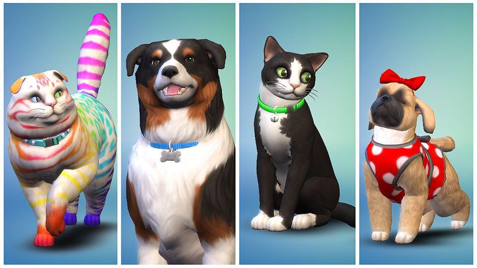 Les Sims 4 : Chiens et Chats
