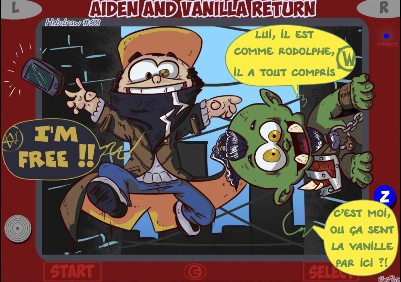 Hebdraw #58 : Aiden and Vanilla return
