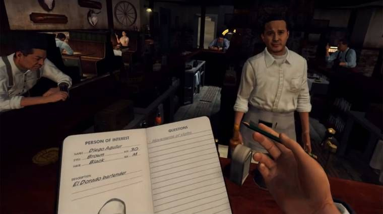 L.A Noire : The VR Case Files