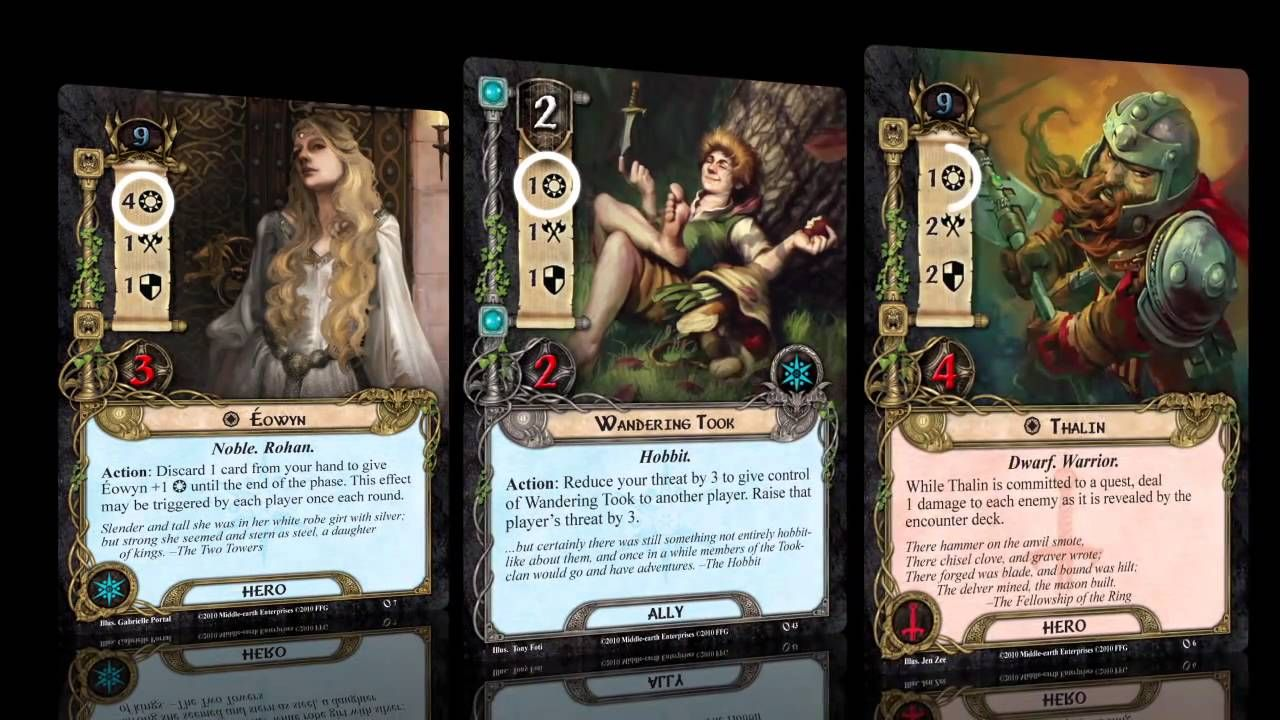 Lord of the Rings : Living Card Game