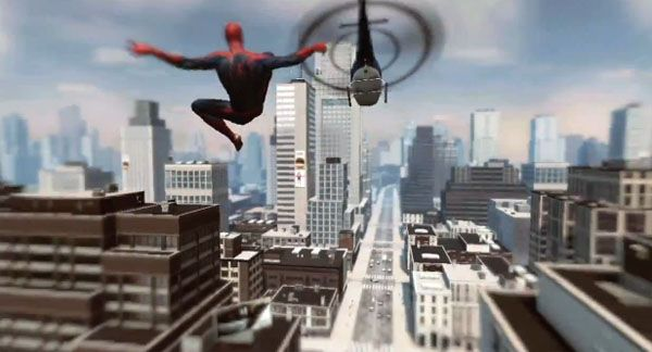 The Amazing Spider-Man : Vidéo de gameplay PS Move