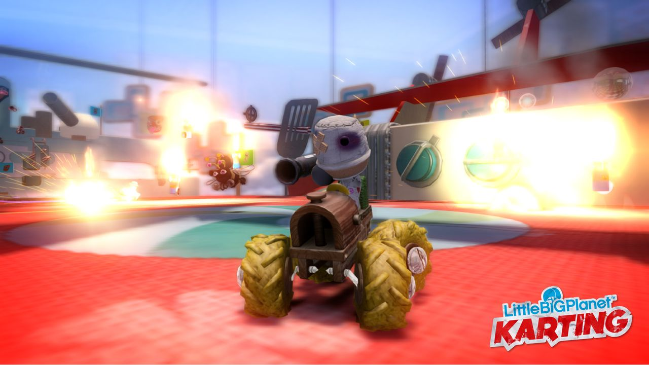 E3 2012  : Little Big Planet Karting toujours en course !
