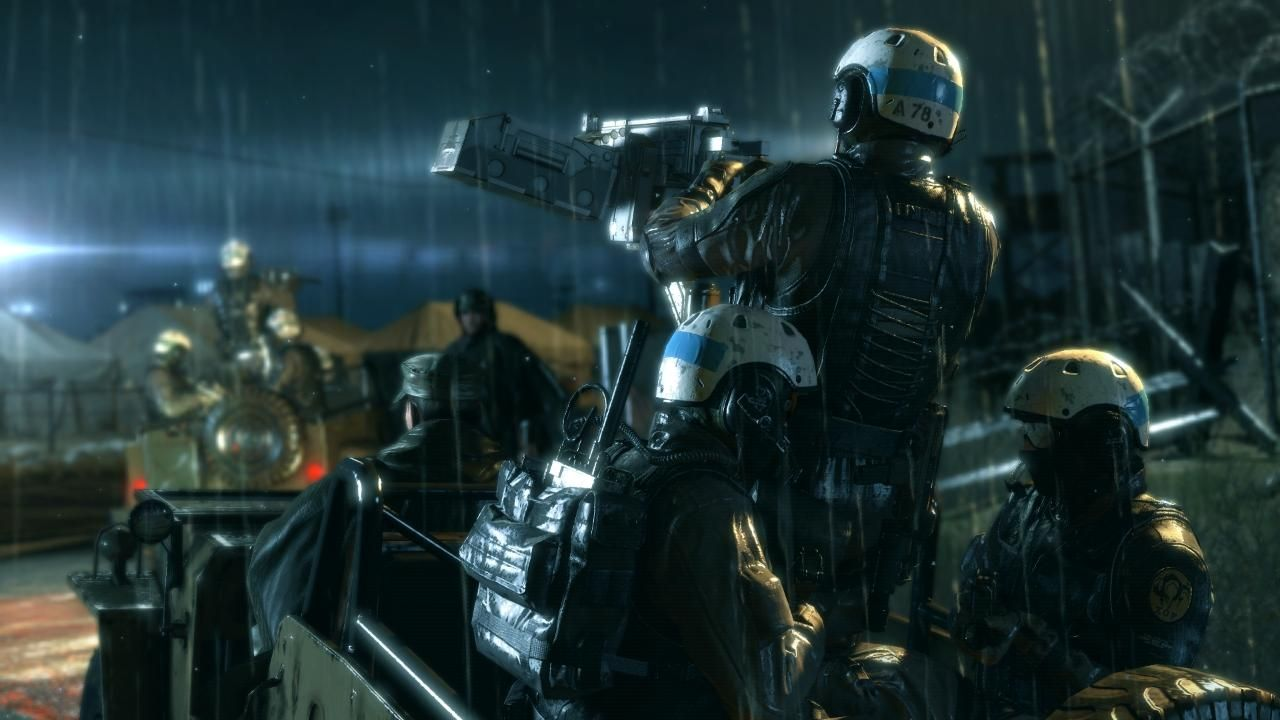 Metal Gear Solid Ground Zeroes : Un cycle jour/nuit