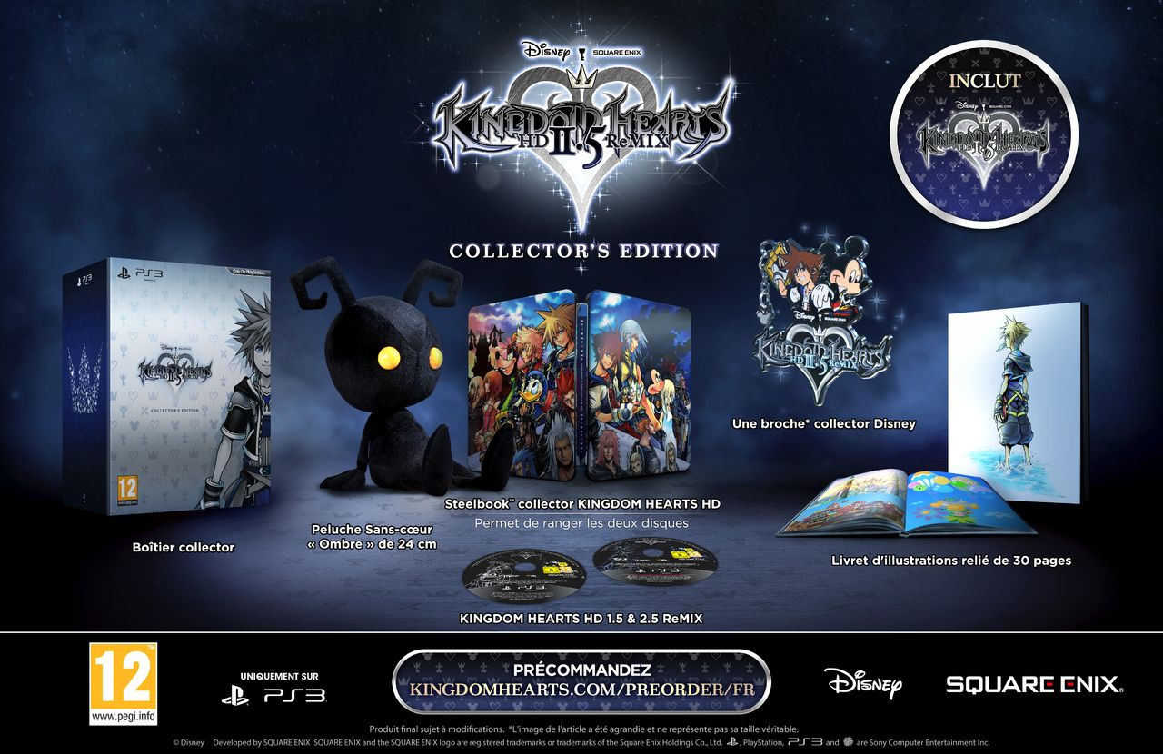 Kingdom Hearts HD 2.5 ReMIX : La version collector sort de l'ombre