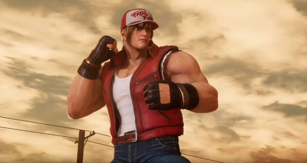 Fighting EX Layer : Terry Bogard tape l'incruste