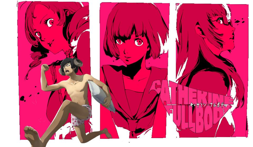 Catherine : Full Body est enfin disponible !