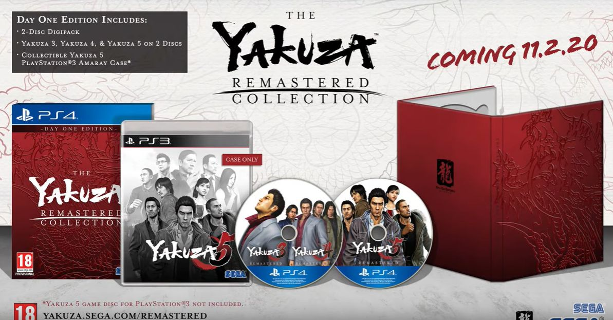 The Yakuza remastered collection : Trailer d'annonce