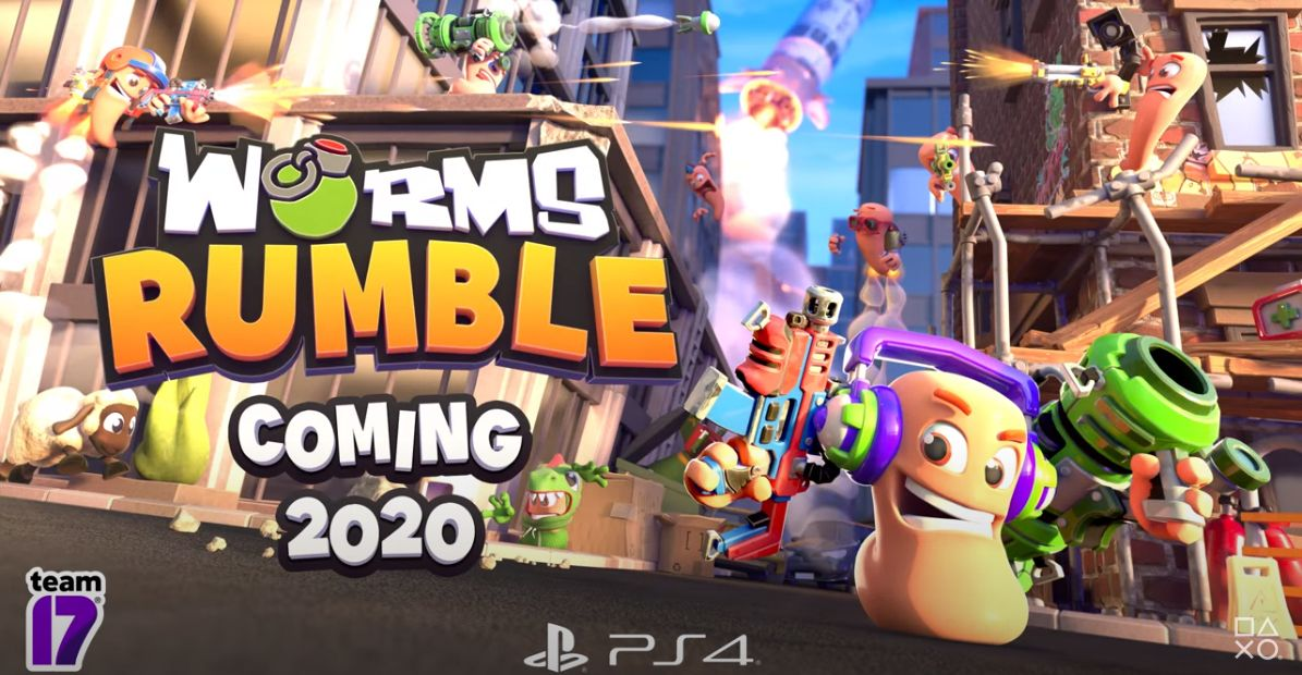 Worms Rumble : Trailer d'annonce