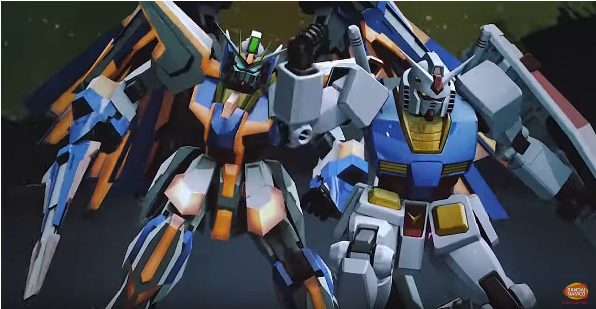 Mobile Suit Gundam Extreme Vs Maxiboost ON : trailer d'annonce