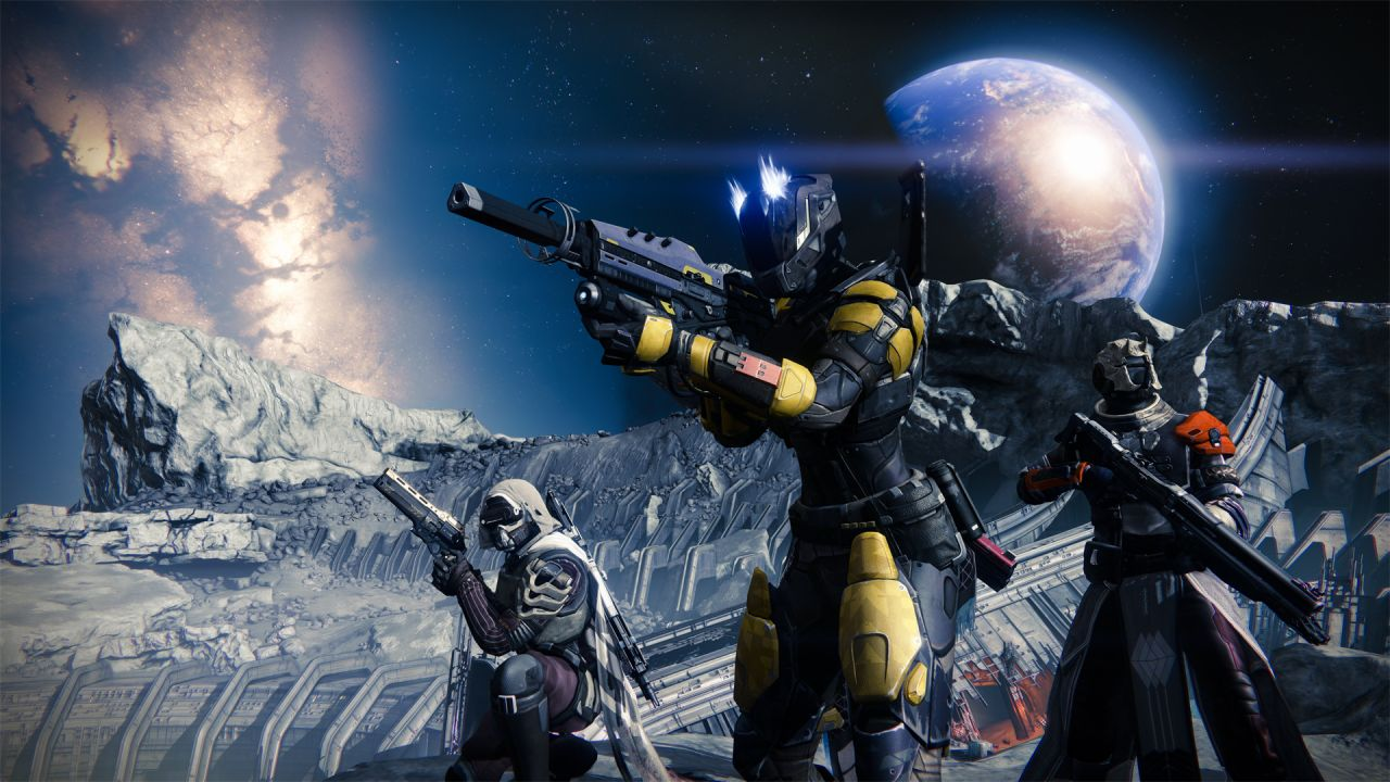 Destiny : la beta temporairement exclusive à Sony