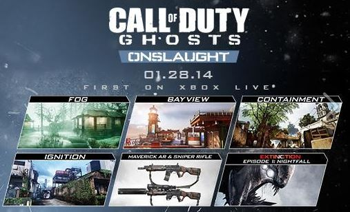 Call of Duty : Ghosts - DLC Onslaught