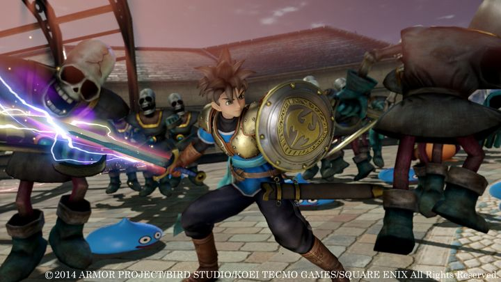 TGS 2014 : Dragon Quest Heroes s'illustre
