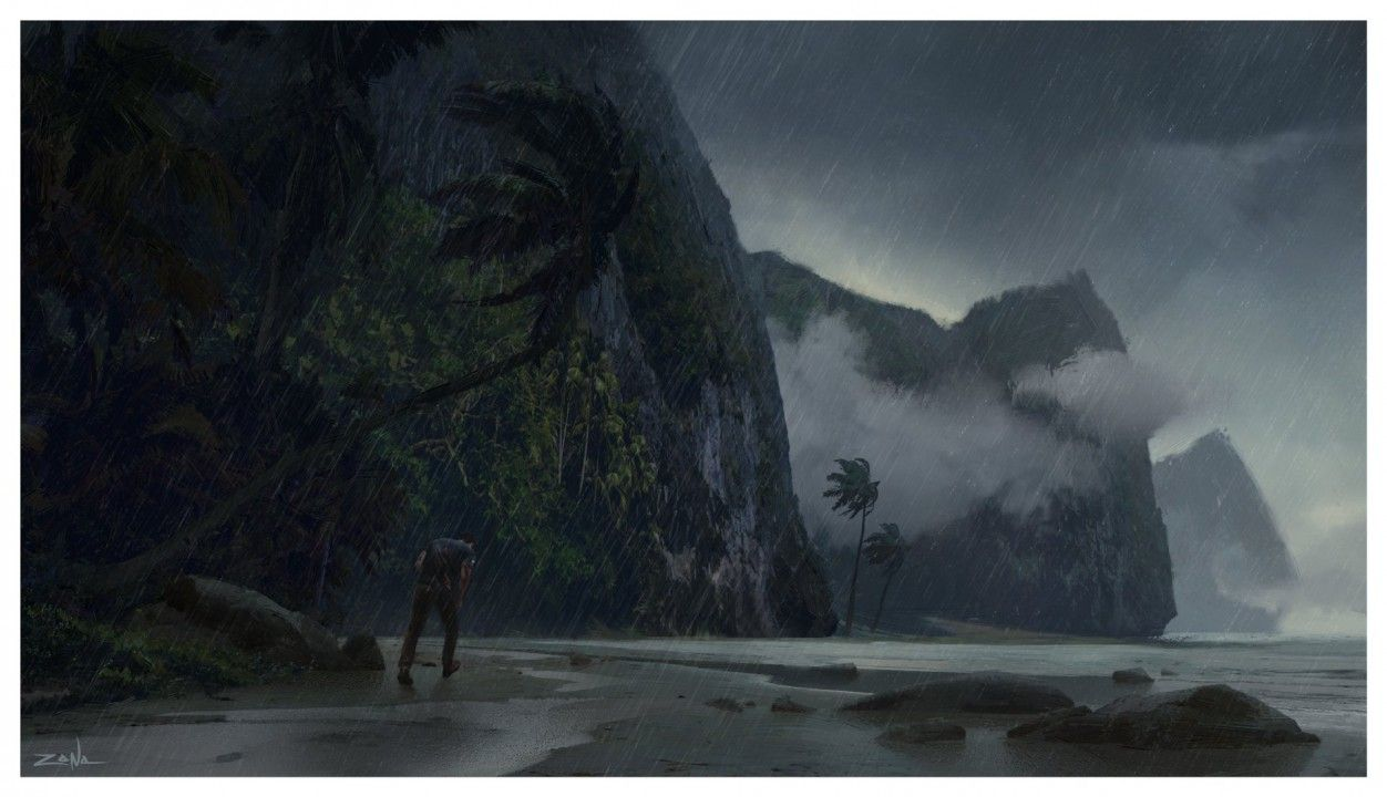 Uncharted 4 : Un superbe artwork du jeu