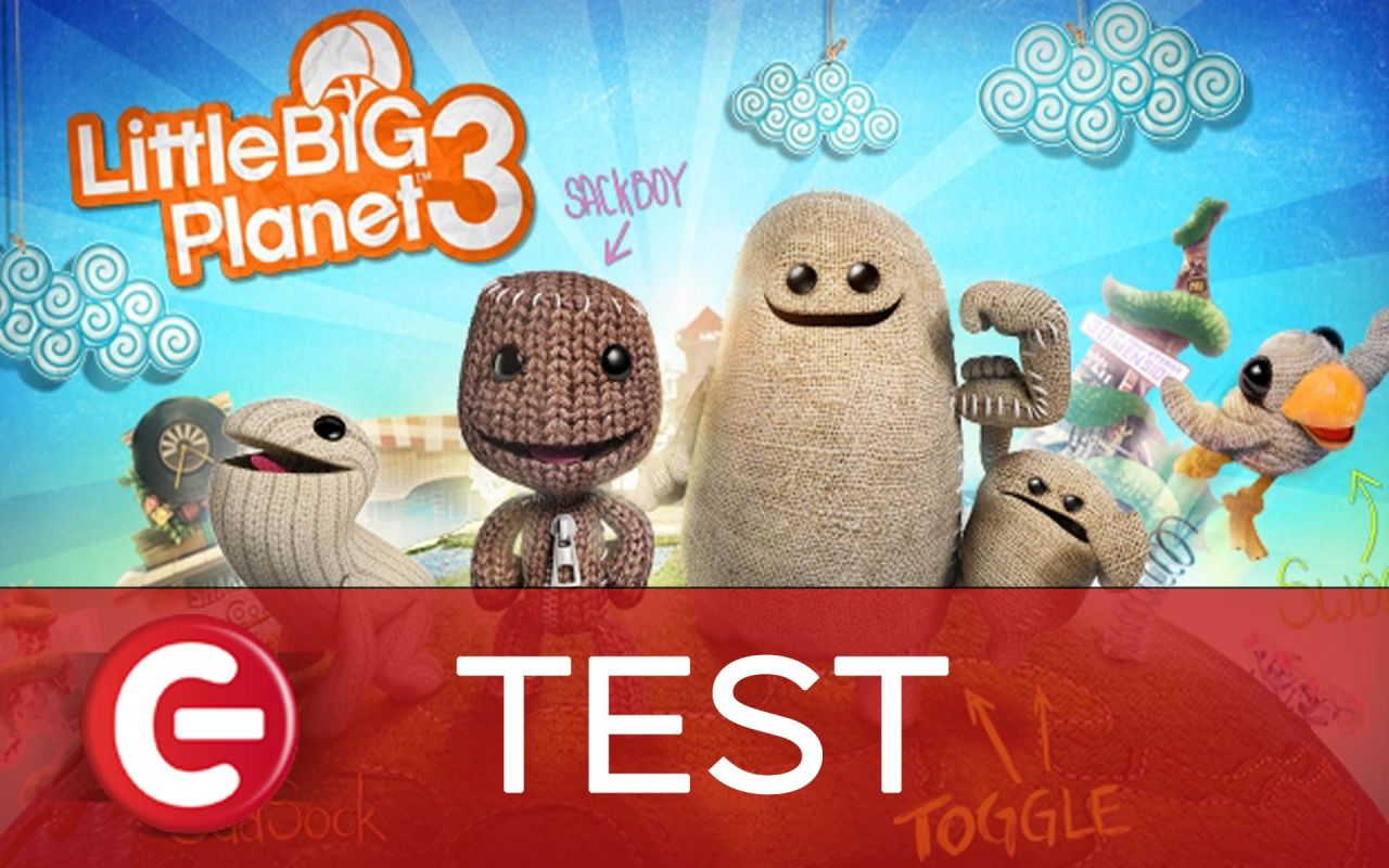 Test : Little Big Planet 3