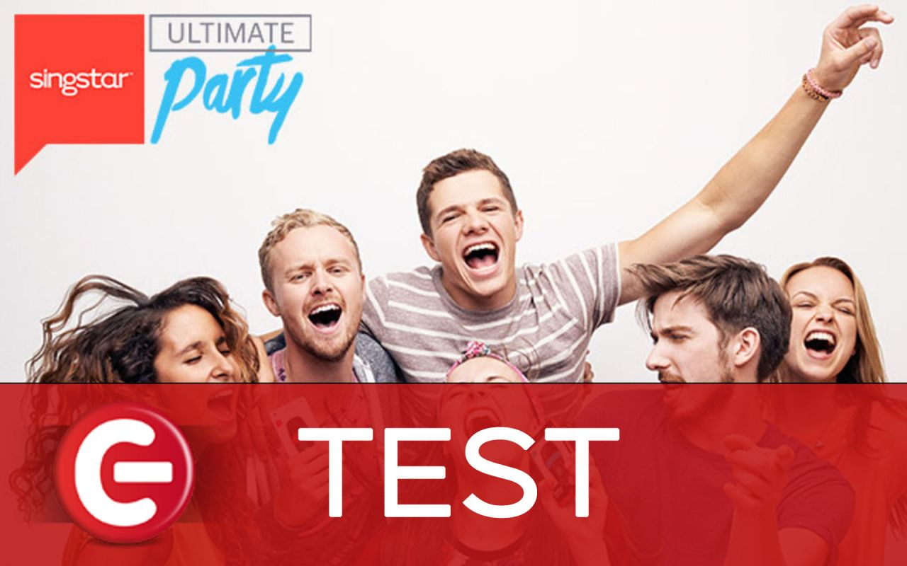 Test : Singstar Ultimate Party