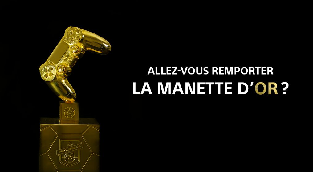 PlayStation Football Club : La Manette d'Or est lancée