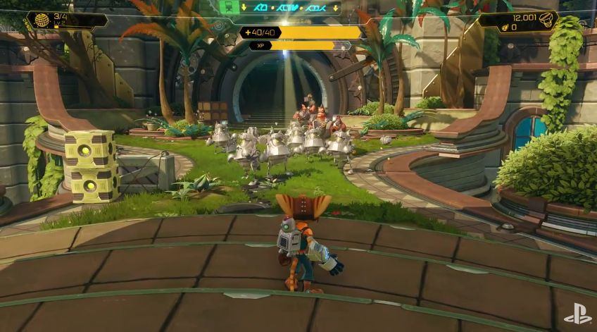 Ratchet and Clank : La vidéo du Playstation Experience (Stage Demo PS4)