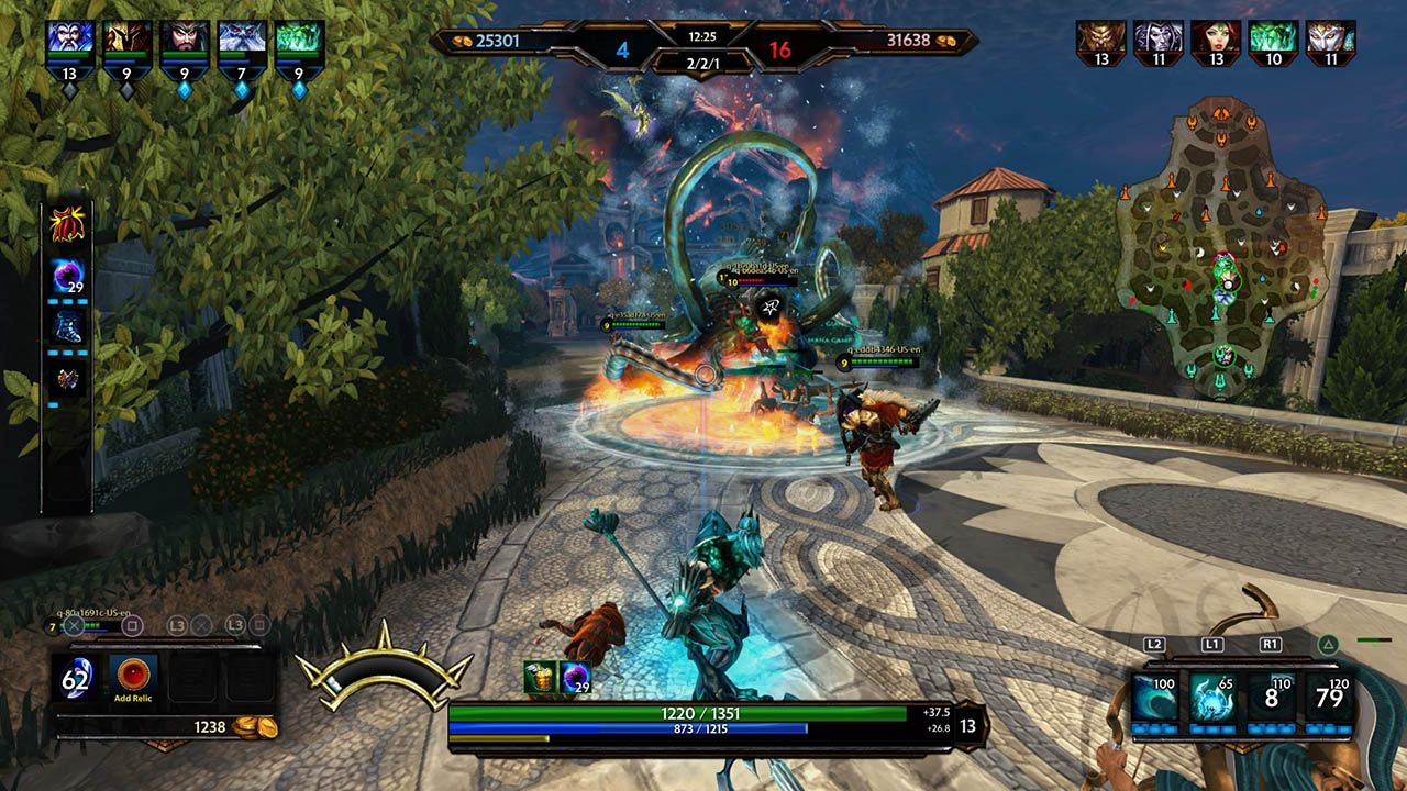 SMITE : confirmation de la version PS4