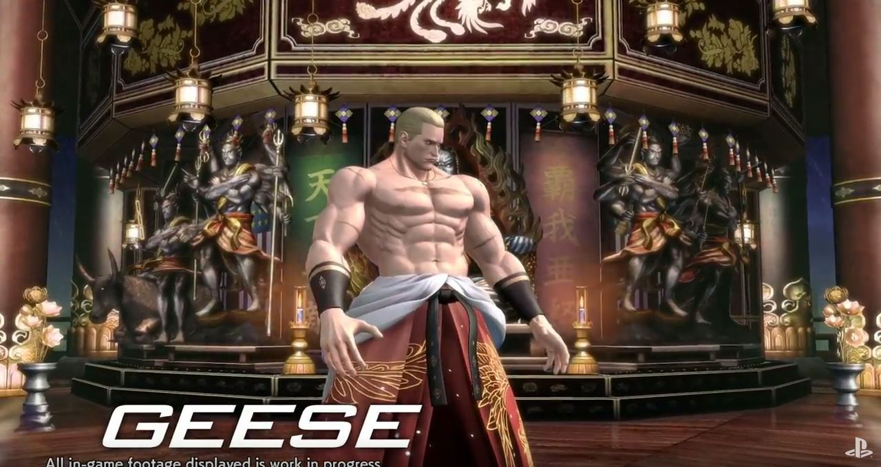 The King of fighters XIV : Geese et Ryo