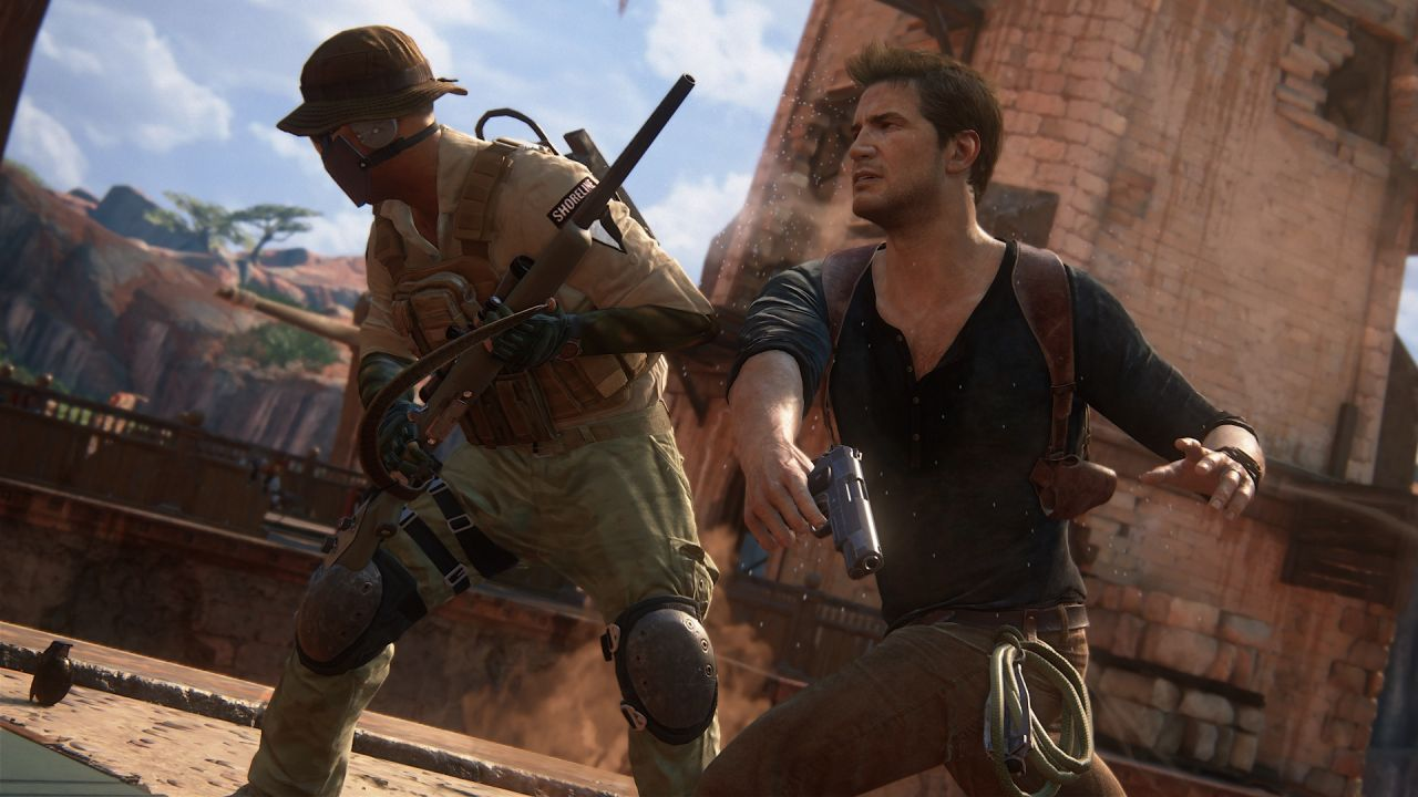 Uncharted 4 : Seize minutes de gameplay en HD