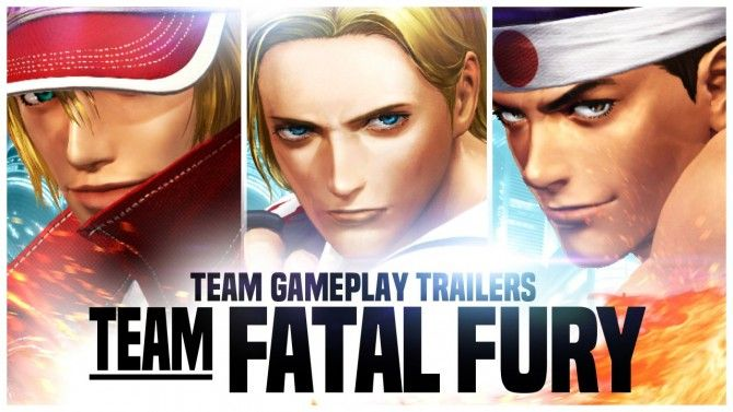 The King of fighters XIV : L'équipe Fatal Fury