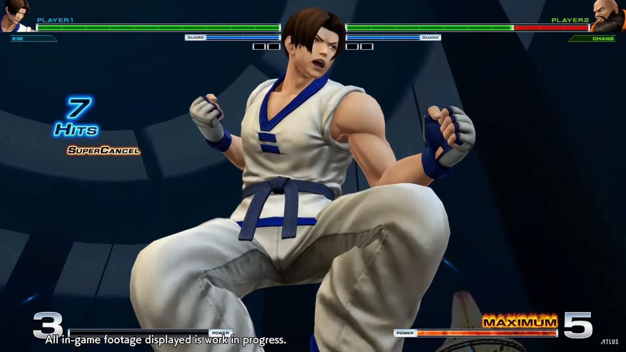 The King of fighters XIV : L'équipe Kim