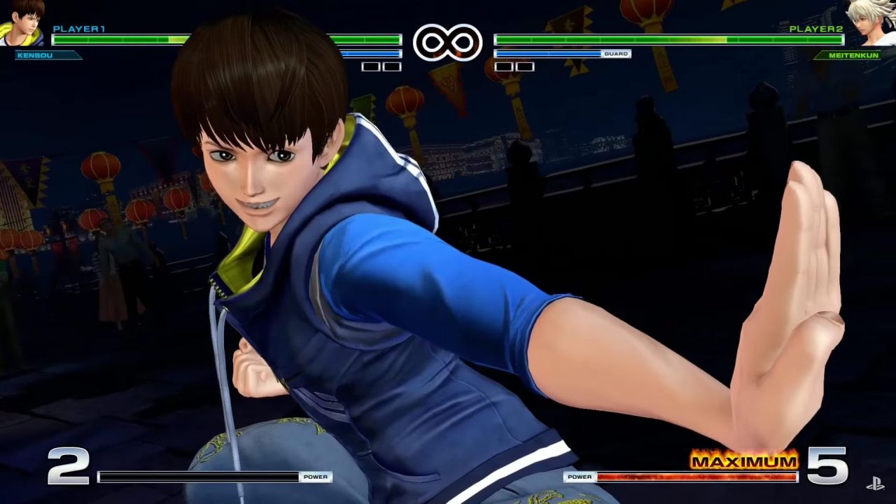 The King of fighters XIV : L'équipe Psycho Soldier