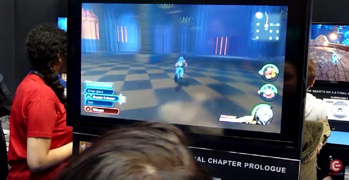Paris Games Week 2016 : séquence de gameplay de Kingdom Hearts 2.8