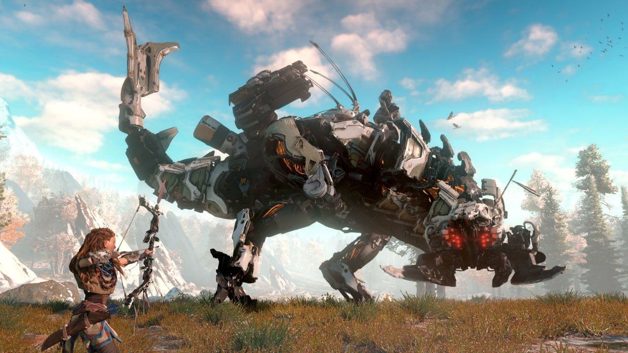 Horizon Zero Dawn : 40 minutes de gameplay