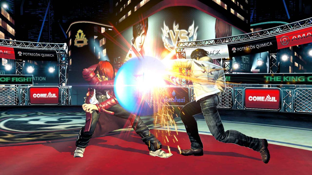 The King of Fighters XIV : Amélioration graphique en vue, le comparatif en image