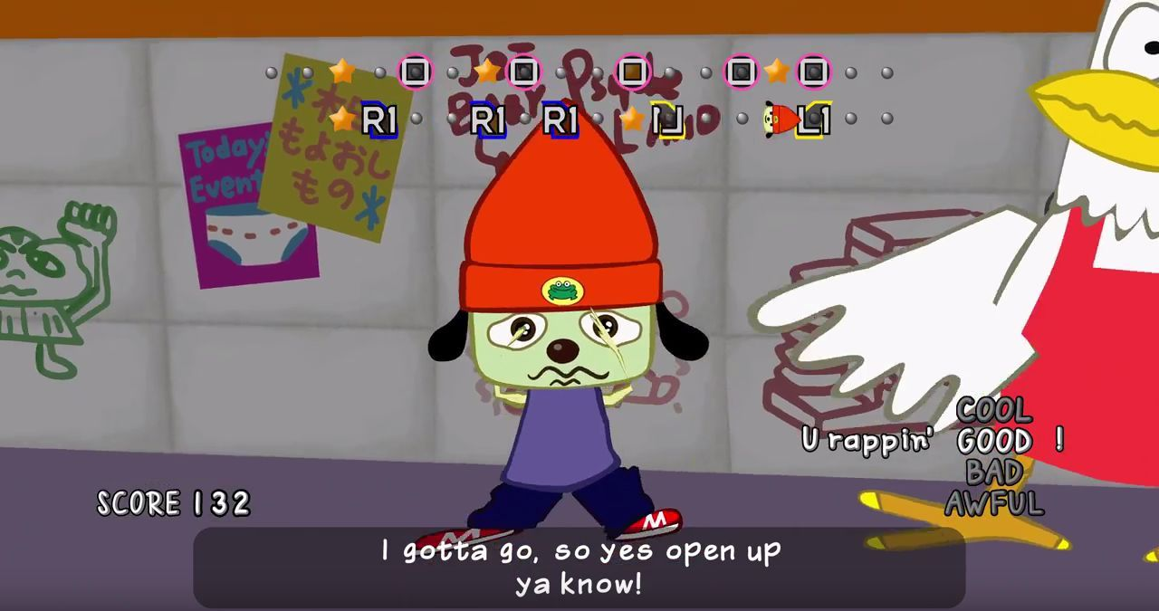 Parappa the Rapper Remastered : I've gotta believe !