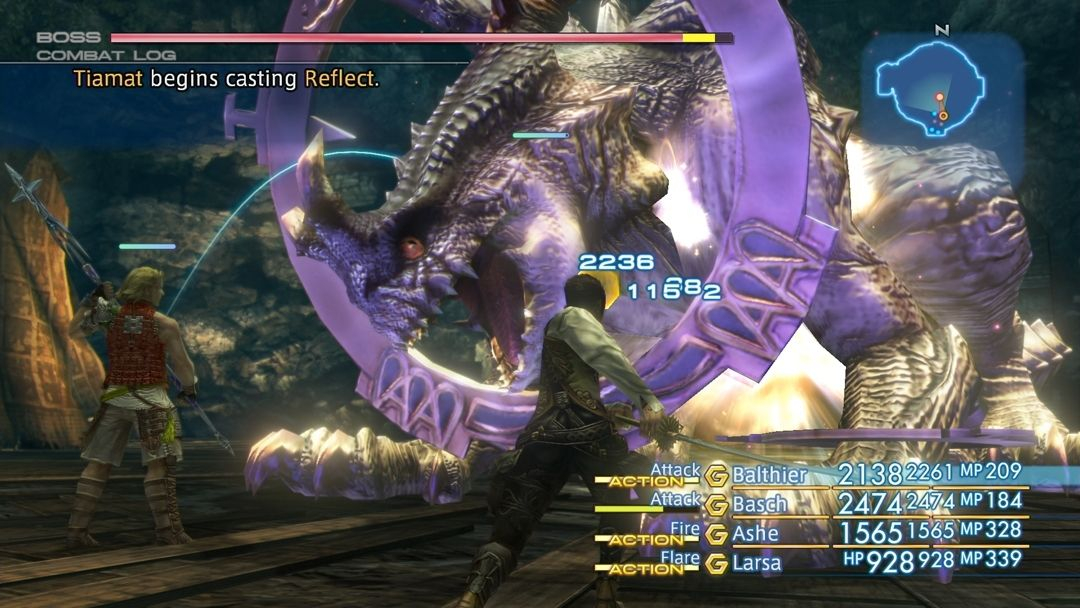 Final Fantasy XII - The Zodiac Age : du combat en vidéo