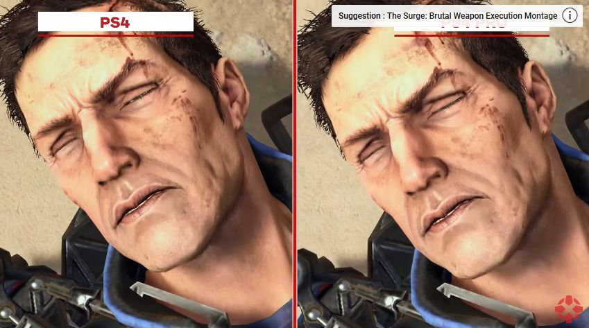 The Surge : Vidéo comparative entre les versions PS4 et PS4 PRO