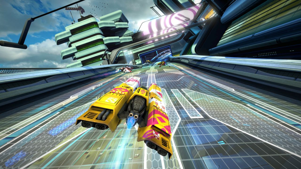 WipEout Omega Collection : Huit minutes de gameplay en duo