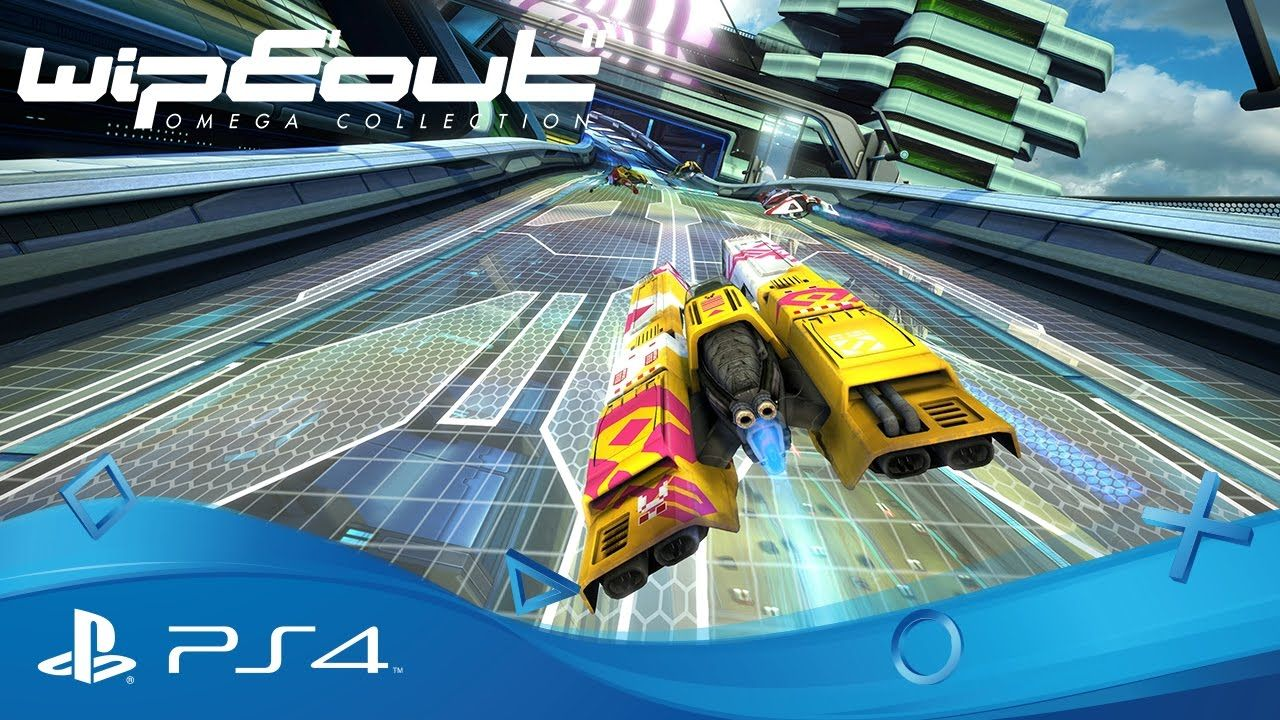 WipEout Omega Collection : Reveal en live de la BO à 21h00