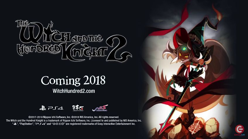 The Witch and the Hundred Knight 2 : Des informations et une bande-annonce pour son arrivée en 2018