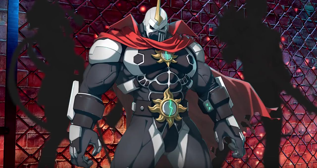 Fighting EX Layer : Blair, Jack et Shadowgeist