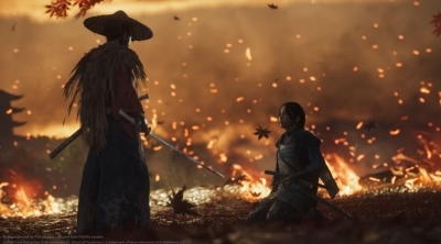 E3 2018 : Ghost of Tsushima, visuellement époustouflant...