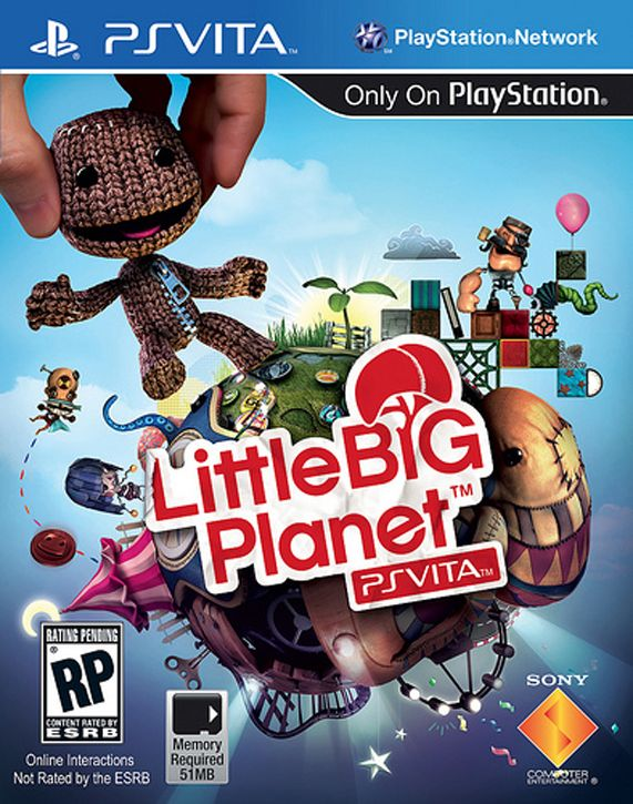 Little Big Planet PSVita : La jaquette officielle !