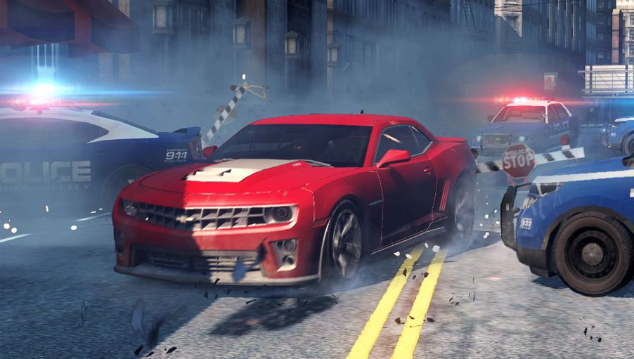 NFS Most Wanted : 2 images sur  PSVita