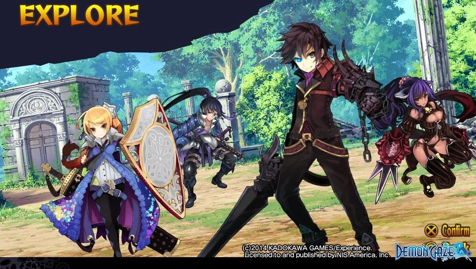Demon Gaze : Bientôt en France !