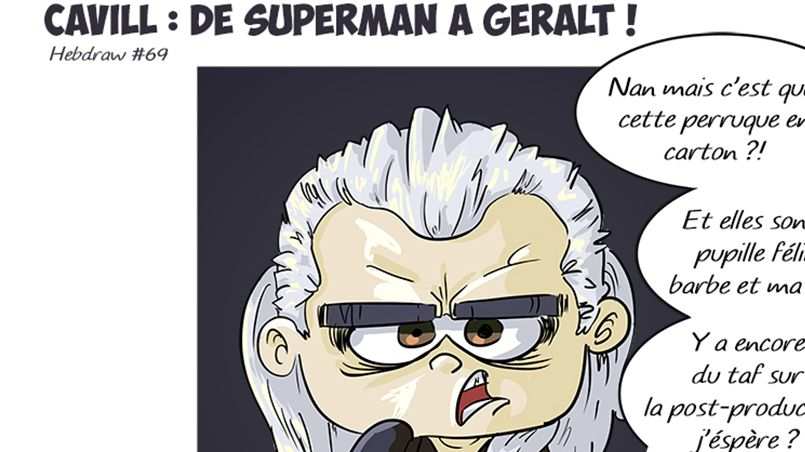 Hebdraw #69 : Geralt by Netflix
