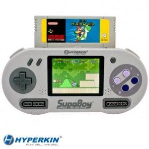 SupaBoy : La Super Nintendo Portable bientôt disponible!