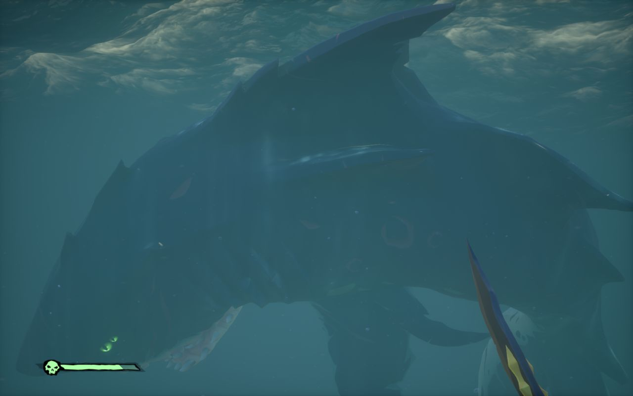 Sea of Thieves : Solution complète pour finir The Hungering Deep, et battre le Mégalodon !