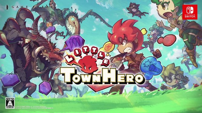 Little Town Hero Big Idea Edition : Débarquera sur Nintendo Switch au printemps 2020 !