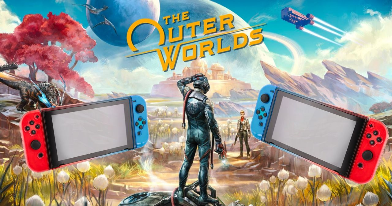 Aucune cartouche The Outer Worlds pour la version Switch